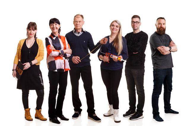 Maalämpöä realitysarjassa TV5:llä